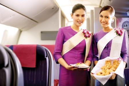Pics for thai airways flight attendant for Korean air cabin crew requirements
